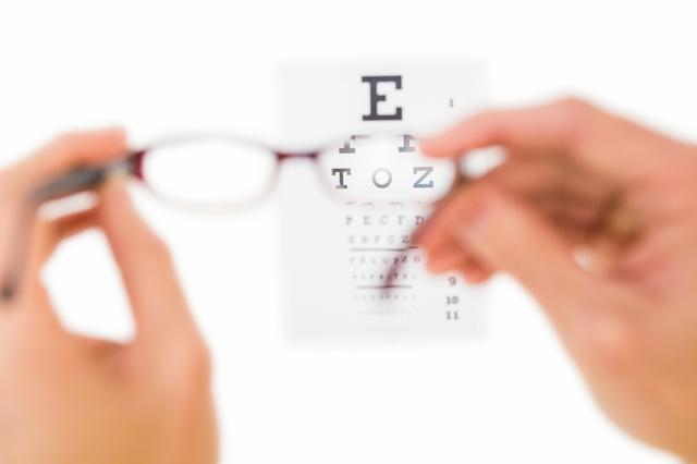 近視の見え方イメージ