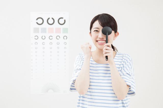 視力検査中のイメージ